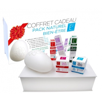Soldes Coffret Cadeau Bien-être : 1 diffuseur IRIS, 2 Aroma Box, 1 Ultra Jeunesse, 1 spray Sommeil Réparateur et 1 spray Respiratoire