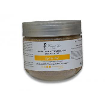 COLORATION   Soin Colorant Epi de Blé  100 %  Végétal 140 G