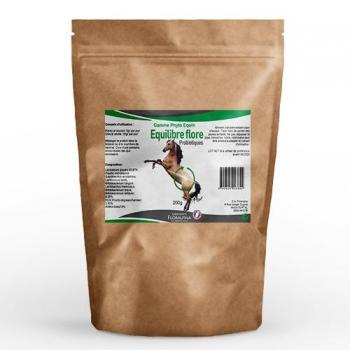 Equilibre flore – probiotiques 200g pour chevaux (phyto equin)