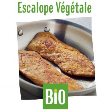 Escalope végétale bio