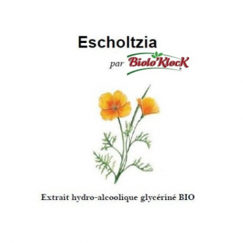 Extrait d'Escholtzia - 100ml