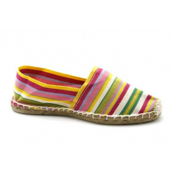 Espadrilles Rayées 10 couleurs - Made in France