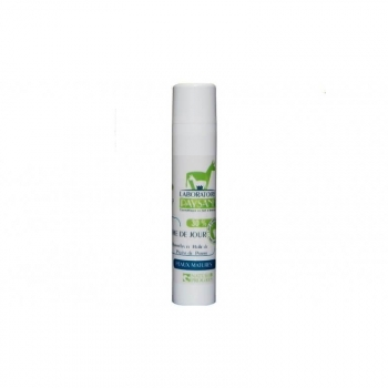Crème de jour, 30% de lait d'ânesse frais peau mature. 50Ml