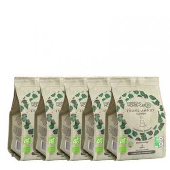 Espresso Monte-Carlo - PACK 100% MOKA - 50 capsules biodégradables et compatibles Nespresso