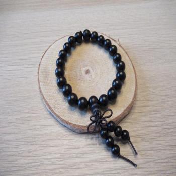 Bracelet en perles de bois n2
