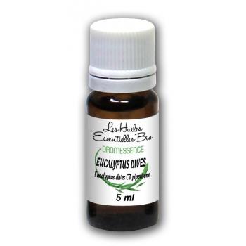 Huile essentielle Eucalyptus dives BIO  (mentholé) 5 ml DROMESSENCE