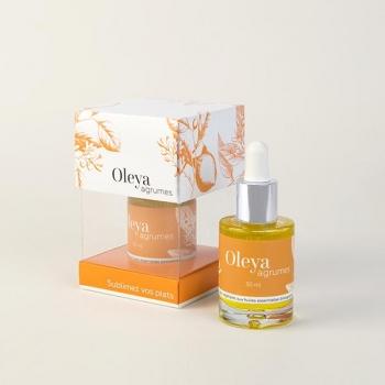 Oleya Agrumes - Sérum culinaire bio aux huiles essentielles de mandarine, d'orange et de citron