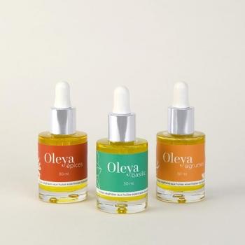 Coffret Oleya - Trio de sérums culinaires aux huiles essentielles