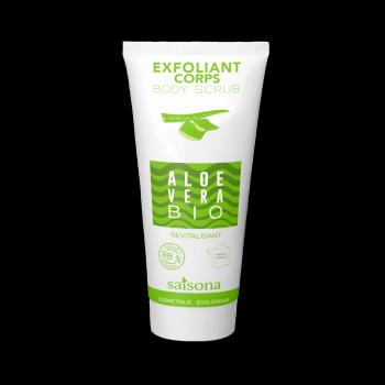 Exfoliant Corps Tonic naturel à l'extrait d'Aloe Verra BIO - SAISONA - 200 ml