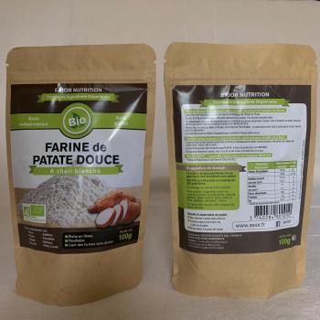 EXIOR NUTRITION Farine de patate douce