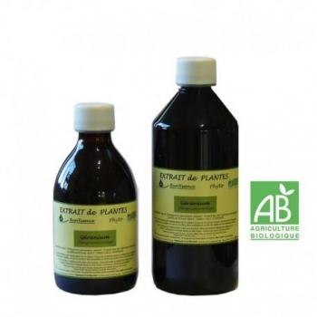 Extrait de plantes géranium bio Run'essence