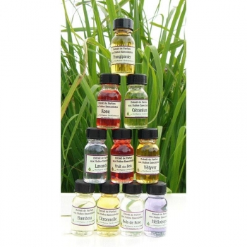 extrait parfum huiles essentielles rose Run'essence