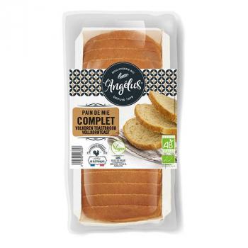L'ANGELUS  - pain de mie complet tranché 350g