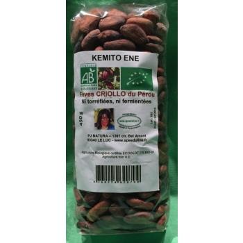 Fèves De Cacao non fermentées Crues Bio 450 G