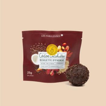 Boulette d'énergie Cacao-Cacahuète