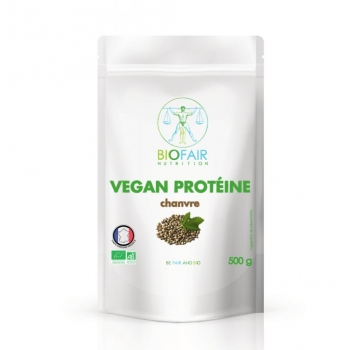 Vegan protéine - chanvre