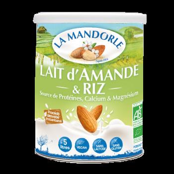 """Lait d'Amande & Riz """"LA MANDORLE"""""""