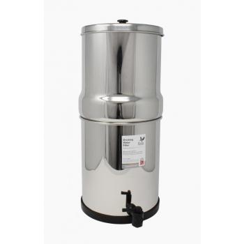 Filtre à gravité British Berkefeld eau pure SS2 avec 2 cartouches ATC Supersterasyl