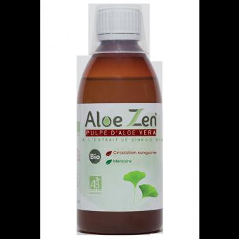 Pulpe d'Aloe Vera à l'extrait de ginkgo