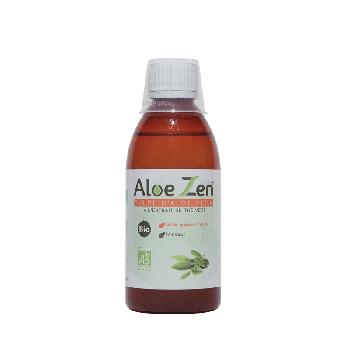 Pulpe d'Aloe Vera bio à l'extrait de thé vert