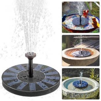 Fontaine à eau solaire  (lien VIDEO )