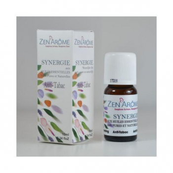 Synergie d'huiles essentielles Anti Tabac - 10 ml