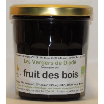 fruit des bois et sucre de canne