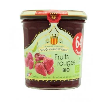 Confiture de Fruits Rouges Bio