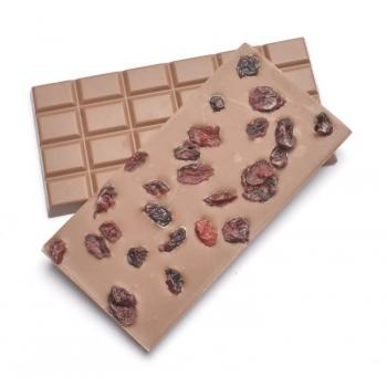 Chocolat au lait Bio Cranberry