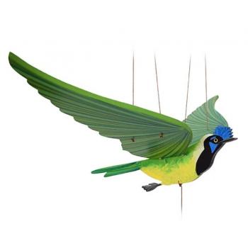 Mobile artisanal Geai Vert issu du commerce équitable