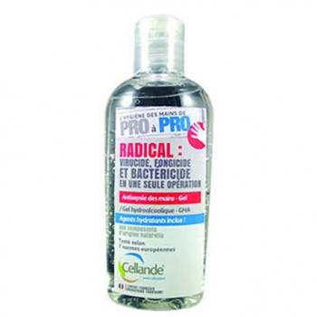 Gel antiseptique hydroalcoolique GHA - 100 ml / 500 ml - bactéricide et virucide.