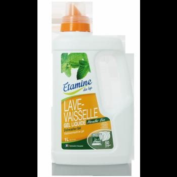 GEL LAVE-VAISSELLE 1litre avec bouchon doseur- 30 ml   label Ecocert