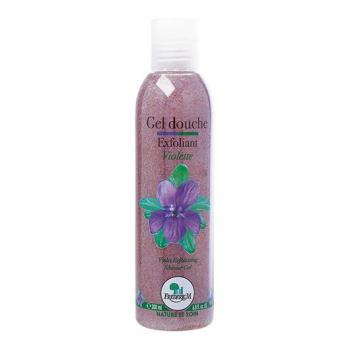 Gel douche exfoliant violette 200ml