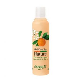 gel douche nature fleur d-oranger 200ml