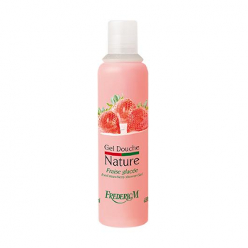 Gel douche nature fraise glacee 200ml