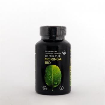 Boîte 120 gélules Moringa Bio pure et traçable