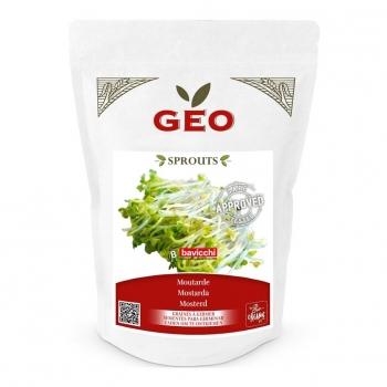 Moutarde - Graines à germer bio - 300g - Geo