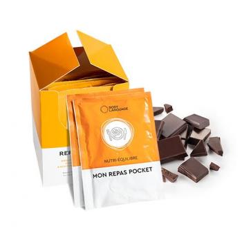 REPAS POCKET CHOCOLAT Substituts de repas légers au bout goût de chocolat