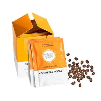 REPAS POCKET CAPPUCCINO  Substituts de repas légers au bout goût de moka cappuccino