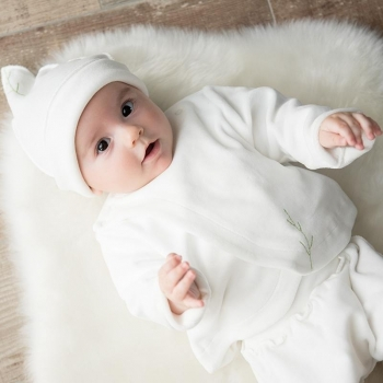 Brassière velours bébé