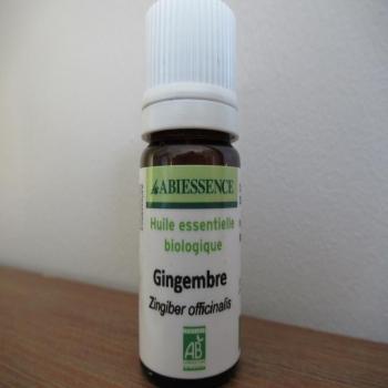 Huile essentielle BIO gingembre 5ml