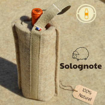 Pochette isotherme 100% naturel - BEIGE -