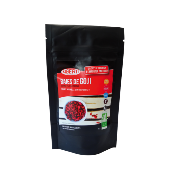 Baies de goji bio snacking