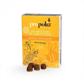 Gommes Propolis-Orange - Propolia