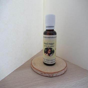 "Synergie à diffuser aux huiles essentielles 30ml ""good respir"""