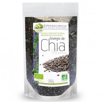 Graines De Chia Noires Bio- 200g - Ecoidées