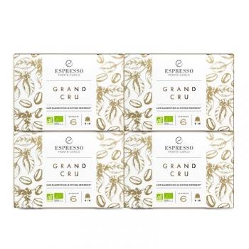 Espresso Monte-Carlo - Passion Grand Cru Bio - 40 capsules compatibles Nespresso