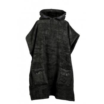 LUIN LIVING - Grand Poncho (M-XL) BLACK