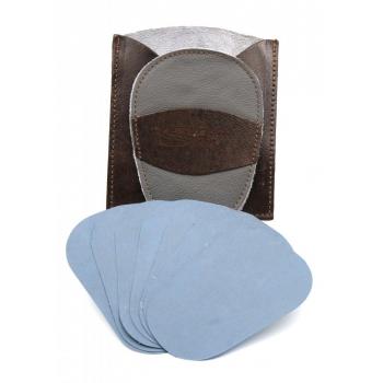 Gant d'exfoliation et d'épilation Kit Bicolore Gris  souris  /Marron