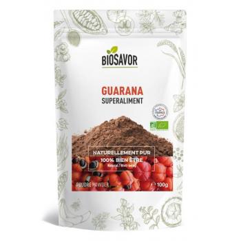 Guarana en poudre Bio - 100g - Elaboré, préparé et conditionné en France